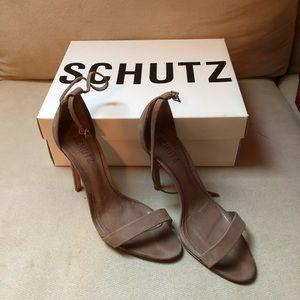 Schutz skinny heels